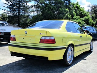 1997 BMW M3 E36 Yellow 6 Speed Manual Coupe
