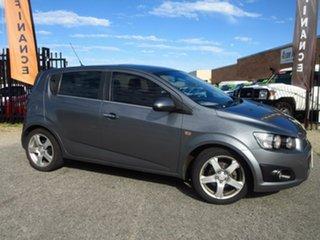 2013 Holden Barina TM MY13 CDX Grey 6 Speed Automatic Hatchback.