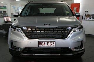 2020 Kia Carnival KA4 MY21 Platinum Silky Silver 8 Speed Sports Automatic Wagon.