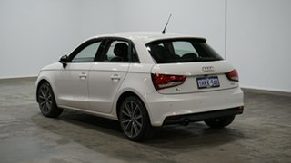 2017 Audi A1 8X MY17 Sportback S Tronic White 7 Speed Sports Automatic Dual Clutch Hatchback.