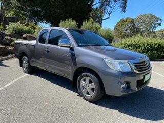 2012 Toyota Hilux GGN15R MY12 SR 4x2 Grey 5 Speed Automatic Cab Chassis.