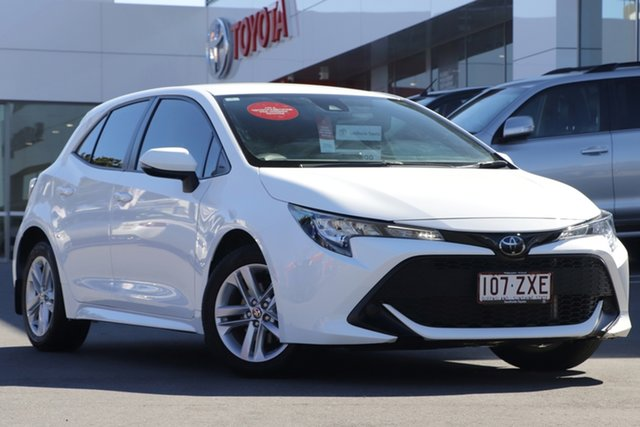 Pre-Owned Toyota Corolla Mzea12R Ascent Sport Upper Mount Gravatt, 2020 Toyota Corolla Mzea12R Ascent Sport White 10 Speed Constant Variable Hatchback