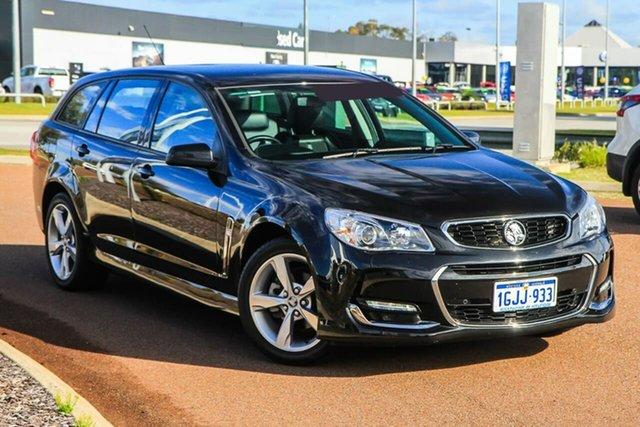 Used Holden Commodore VF II MY16 SV6 Sportwagon Rockingham, 2015 Holden Commodore VF II MY16 SV6 Sportwagon Black 6 Speed Sports Automatic Wagon
