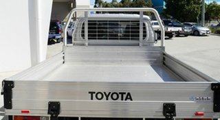 2018 Toyota Landcruiser VDJ79R GXL Double Cab Silver 5 Speed Manual Cab Chassis