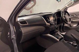 2015 Mitsubishi Triton MQ MY16 GLS Double Cab Grey 5 speed Automatic Utility