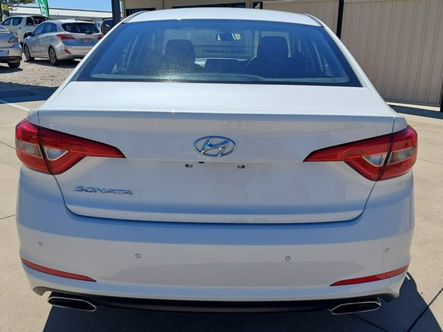Used Hyundai Sonata LF3 MY17 Active Gympie, 2016 Hyundai Sonata LF3 MY17 Active White 6 Speed Sports Automatic Sedan