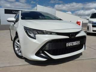 2019 Toyota Corolla Mzea12R SX White 10 Speed Constant Variable Hatchback.