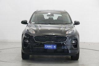 2020 Kia Sportage QL MY20 S AWD Cherry Black 8 Speed Sports Automatic Wagon.