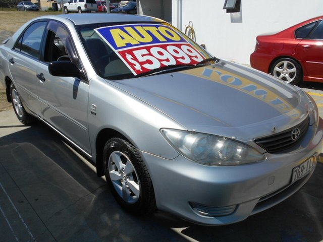 Used Toyota Camry ACV36R Altise Springwood, 2004 Toyota Camry ACV36R Altise Silver 4 Speed Automatic Sedan