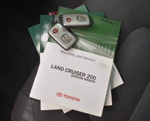 2009 Toyota Landcruiser VDJ200R Sahara (4x4) Silver 6 Speed Automatic Wagon.