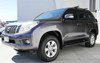 2011 Toyota Landcruiser Prado GRJ150R GXL Grey 5 Speed Sports Automatic Wagon.