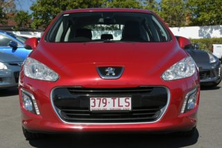 2012 Peugeot 308 T7 MY12 Active Red 6 Speed Sports Automatic Hatchback