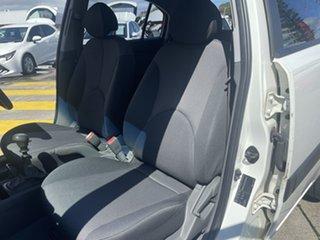 2007 Kia Rio JB MY07 LX White 5 Speed Manual Hatchback