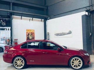 2013 Ford Falcon FG MkII XR6 Burgundy 6 Speed Sports Automatic Sedan.