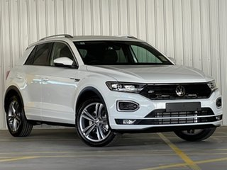2021 Volkswagen T-ROC A1 MY21 140TSI DSG 4MOTION Sport White 7 Speed Sports Automatic Dual Clutch.