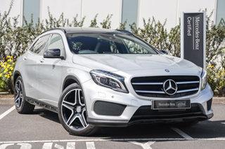 2015 Mercedes-Benz GLA-Class X156 806MY GLA250 DCT 4MATIC Polar Silver 7 Speed.