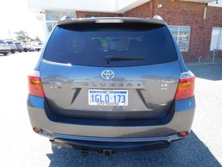 2010 Toyota Kluger GSU45R KX-S AWD Grey 5 Speed Sports Automatic Wagon