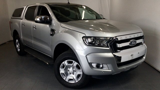 Used Ford Ranger PX MkII 2018.00MY XLT Double Cab Elizabeth, 2018 Ford Ranger PX MkII 2018.00MY XLT Double Cab Silver 6 Speed Sports Automatic Utility