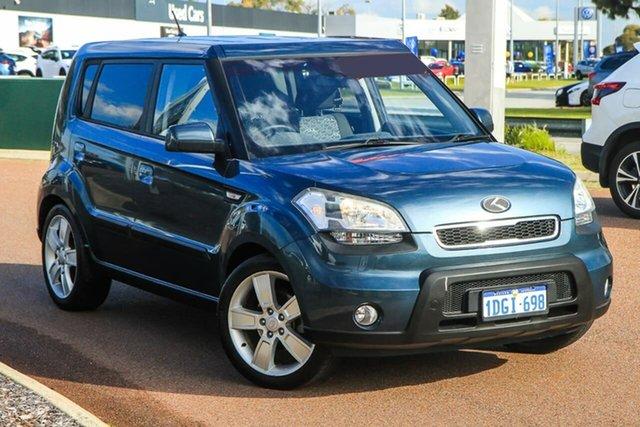Used Kia Soul AM MY10 3 Rockingham, 2009 Kia Soul AM MY10 3.0 Grey 4 Speed Automatic Hatchback