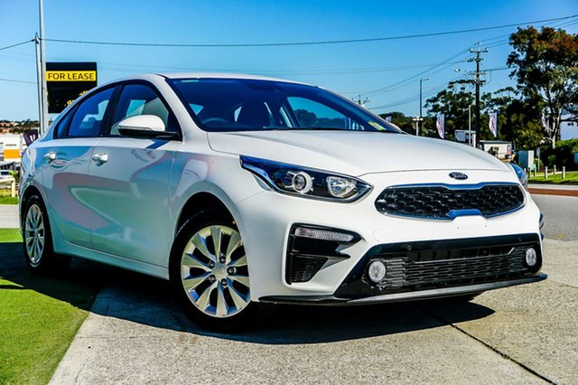 New Kia Cerato BD MY22 S Wangara, 2021 Kia Cerato BD MY22 S Clear White 6 Speed Sports Automatic Sedan