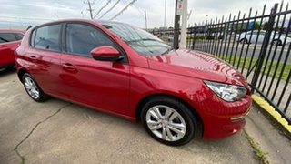 2015 Peugeot 308 T9 Active Red 6 Speed Sports Automatic Hatchback.