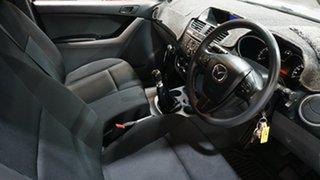 2016 Mazda BT-50 UR0YF1 XT 4x2 Hi-Rider Silver 6 Speed Manual Cab Chassis