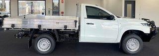 2019 Mitsubishi Triton MR MY19 GLX 4x2 White 5 Speed Manual Cab Chassis.