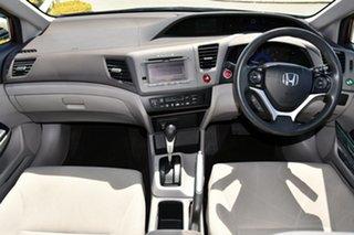 2012 Honda Civic 9th Gen Ser II VTi-LN Red 5 Speed Sports Automatic Sedan.