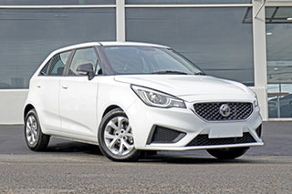 2021 MG MG3 SZP1 MY21 Core White 4 Speed Automatic Hatchback.