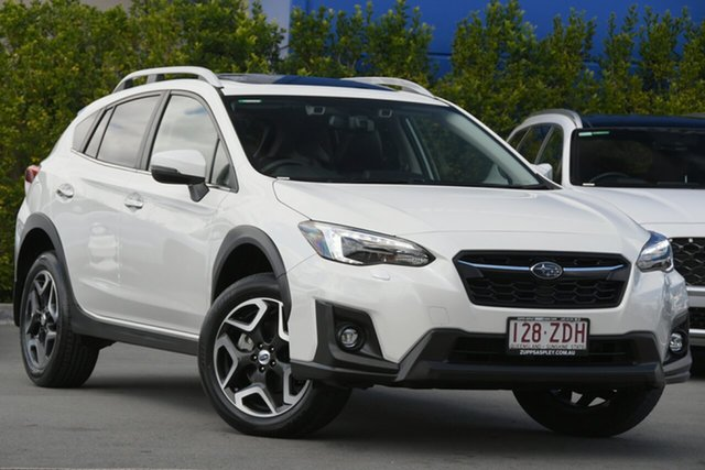Used Subaru XV G5X MY19 2.0i-S Lineartronic AWD Aspley, 2019 Subaru XV G5X MY19 2.0i-S Lineartronic AWD White 7 Speed Constant Variable Wagon