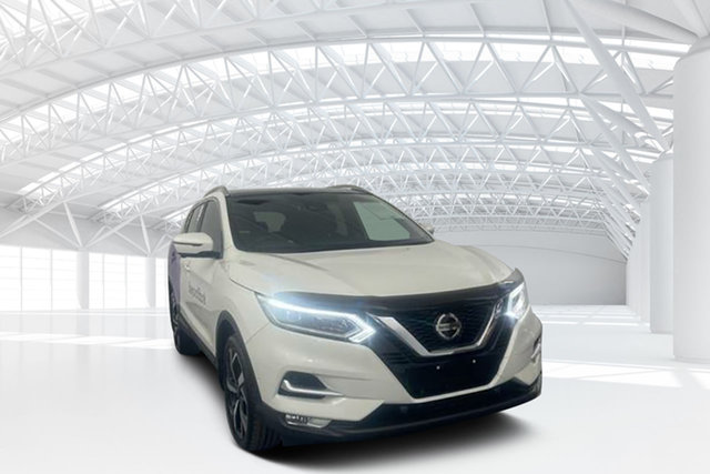 Used Nissan Qashqai J11 MY18 TI Moorebank, 2018 Nissan Qashqai J11 MY18 TI White Continuous Variable Wagon