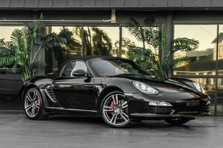 2011 Porsche Boxster 987 MY11 S PDK Black 7 Speed Sports Automatic Dual Clutch Convertible.