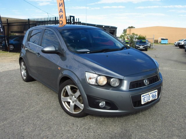 Used Holden Barina TM MY13 CDX Wangara, 2013 Holden Barina TM MY13 CDX Grey 6 Speed Automatic Hatchback