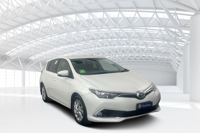 Used Toyota Corolla ZRE172R Ascent S-CVT Moorebank, 2017 Toyota Corolla ZRE172R Ascent S-CVT Glacier White 7 Speed Constant Variable Sedan