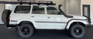 1997 Toyota Landcruiser HZJ80R 40th Anniversary White 5 Speed Manual Wagon.