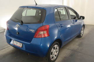 2007 Toyota Yaris NCP91R YRS Blue 4 Speed Automatic Hatchback