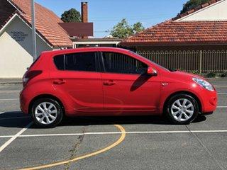 2012 Hyundai i20 PB MY12 Elite Red 4 Speed Automatic Hatchback.