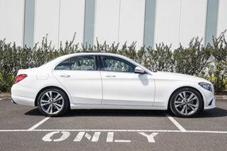 2019 Mercedes-Benz C-Class W205 809MY C200 9G-Tronic Polar White 9 Speed Sports Automatic Sedan.