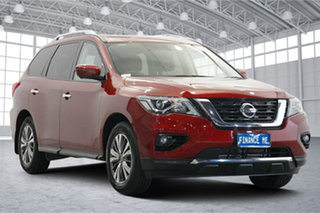 2018 Nissan Pathfinder R52 Series II MY17 ST-L X-tronic 4WD Red 1 Speed Constant Variable Wagon.