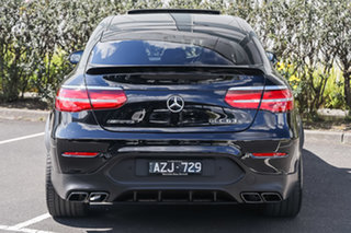 2019 Mercedes-Benz GLC-Class C253 809MY GLC63 AMG Coupe SPEEDSHIFT MCT 4MATIC+ S Obsidian Black