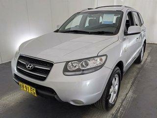 2008 Hyundai Santa Fe CM MY08 SX Silver 5 Speed Sports Automatic Wagon.