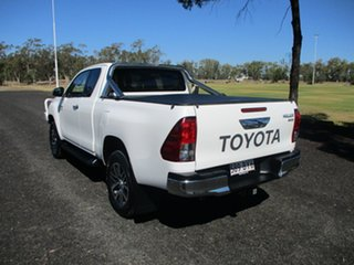 2018 Toyota Hilux GUN126R MY17 SR5 (4x4) Glacier White 6 Speed Automatic X Cab Utility