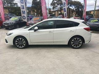 2021 Subaru Impreza G5 MY21 2.0i CVT AWD Crystal White 7 Speed Constant Variable Hatchback