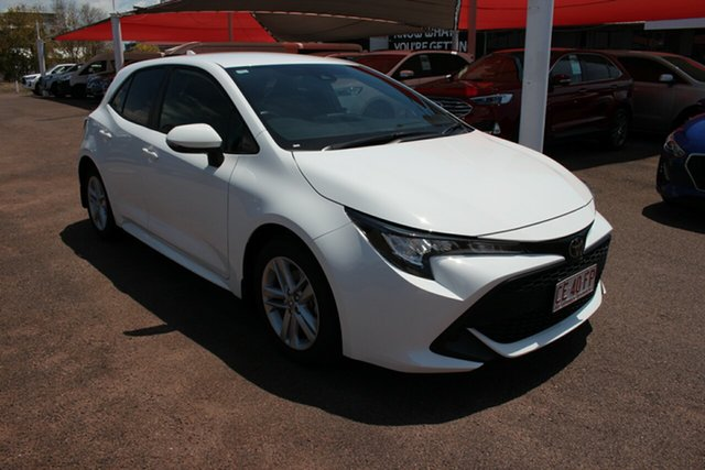 Pre-Owned Toyota Corolla Mzea12R Ascent Sport Darwin, 2021 Toyota Corolla Mzea12R Ascent Sport Glacier White 10 Speed Automatic Hatchback