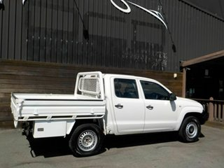 2014 Volkswagen Amarok 2H MY14 TDI420 4Motion Perm White 8 Speed Automatic Cab Chassis