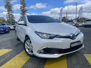 2018 Toyota Corolla ZRE182R Ascent Sport S-CVT White 7 Speed Constant Variable Hatchback.