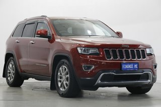2014 Jeep Grand Cherokee WK MY2014 Limited Deep Cherry Red 8 Speed Sports Automatic Wagon