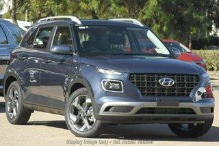 2021 Hyundai Venue Qx.v4 MY22 Active The Denim 6 Speed Automatic Wagon.