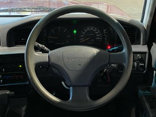 1998 Toyota Landcruiser FZJ80R GXL Red 4 Speed Automatic Wagon