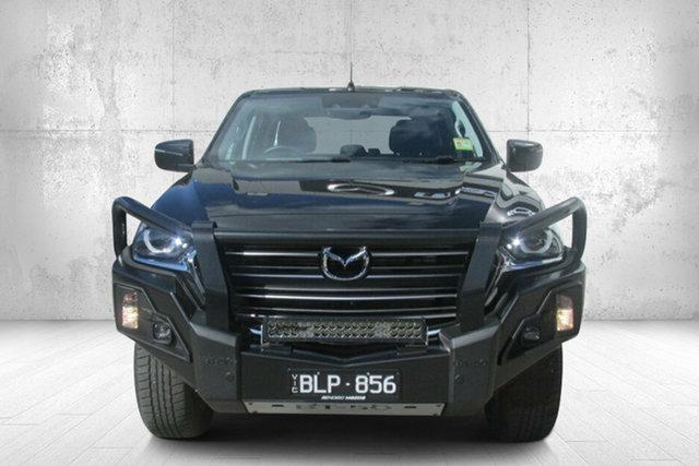Demo Mazda BT-50 TFS40J XTR Bendigo, 2021 Mazda BT-50 TFS40J XTR Black 6 Speed Sports Automatic Utility